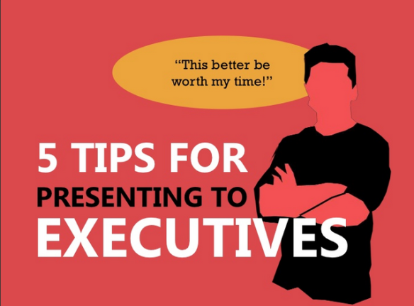 How to present successfully to Executives